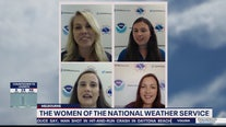 The women of the National Weather Service