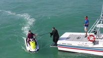 Key West high school seniors celebrate commencement with 'jet ski graduation'