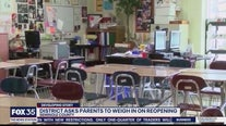 District asks parents to weigh in on reopening