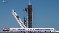 SpaceX manned launch set for Wednesday