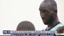 Tacko Fall staying busy lockdown