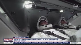 SpaceX crewed launch set for Wednesday