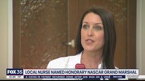 Orlando nurse named honorary NASCAR Grand Marshall