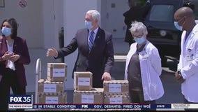 Vice President Pence visits Orlando nursing home