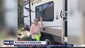 Paying it Forward: RV donated to medical worker