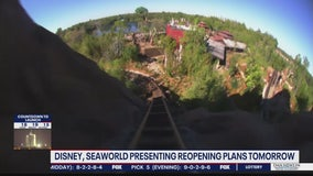 Theme parks to present reopening plans