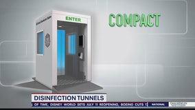 Search for Solutions: Disinfection tunnels