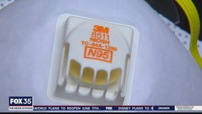 Experts warn of concerns with certain N-95 masks with valve