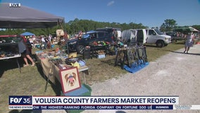 Volusia County Farmer's Market reopens