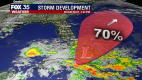 System near the Bahamas has 70% chance of developing, could bring rain to Florida