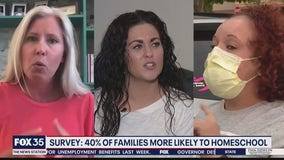 Parents considering continue homeschooling after pandemic