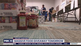 Massive food giveaway on May 2 in Palm Coast