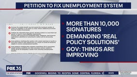 Petition to fix unemployment system