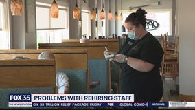Problems with rehiring staff