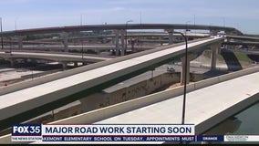 Major road work starting soon on Interstate 4 in Orlando