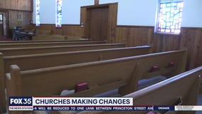 Churches making changes for reopening amid COVID-19
