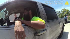 Body camera shows traffic stop that ended with pursuit, suspect's death