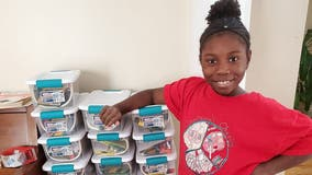Girl, 10, sends over 1,500 art kits to kids in homeless shelters, foster care during coronavirus shutdown