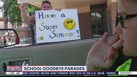 School goodbye parades