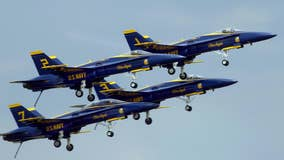 U.S. Navy's Blue Angels to fly over 2 Florida cities to honor healthcare workers, first responders
