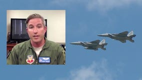 Florida National Guard pilot discusses Orlando flyover to salute healthcare workers