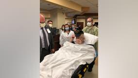 100-year-old World War II veteran from Virginia coronavirus-free after 58 days in the hospital