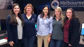 Meet the Space Coast's team of female forecasters