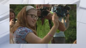 Parade held for high school senior with terminal illness