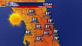 A long stretch of dry weather: First week of May in Central Florida