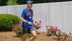 Georgia teacher running more than 50 miles to visit all of his students