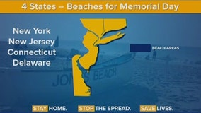New York beaches to open for Memorial Day weekend