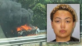 Mother tried to kill 14-month-old son by setting car on fire, South Carolina police say