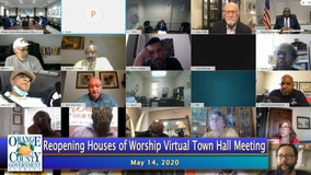 Orange County mayor hosts virtual town hall with local churches