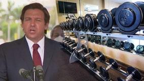 DeSantis says it 'doesn't make sense' to close gyms