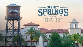 Disney Springs to begin phased reopening, to start on May 20