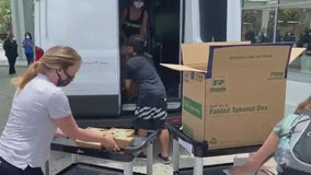 Groups Feed the ER, FLAG deliver 500 meals to healthcare workers