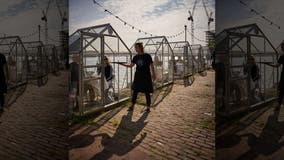 Dutch restaurant testing individual 'greenhouses' for diners amid coronavirus pandemic