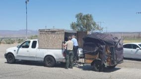 5 kids found in crate attached to truck with no ventilation, water, AC, while temps neared 100 degrees