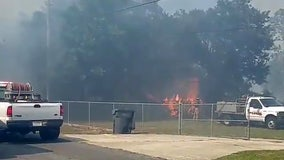 85-acre Lake Wales brush fire mostly contained