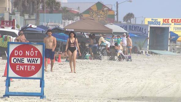 Beach patrol asks people to 'be responsible' amid packed beaches this Memorial Day weekend