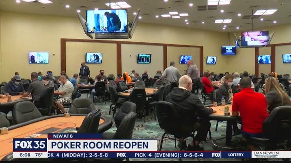 Florida poker rooms reopen