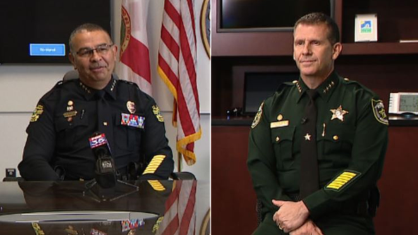 Orlando Police Chief Rolon, Orange County Sheriff Mina discuss George Floyd death