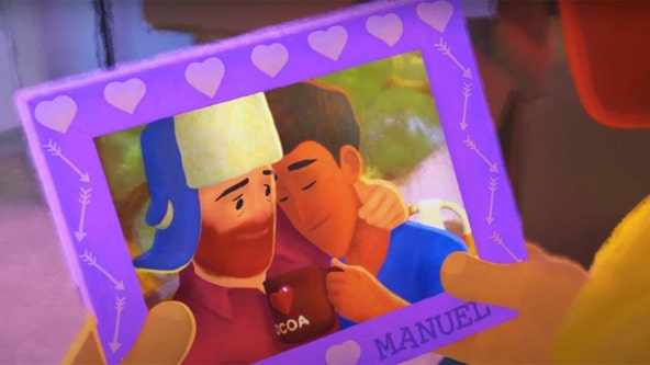 Pixar's new short film 'Out' features first gay main character