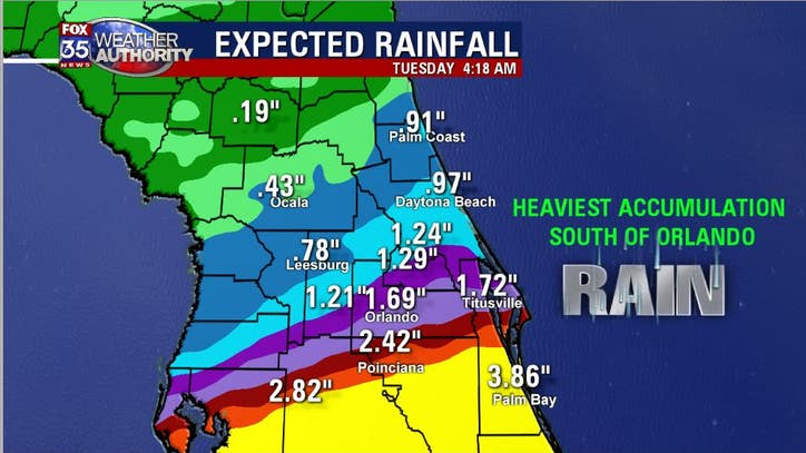 Wetter days ahead for Central Florida?