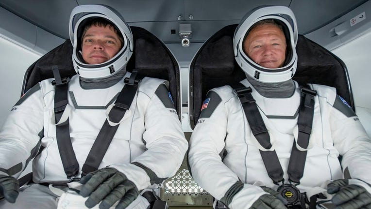 - spacex spacesuits - Kennedy Space Center Visitor Complex to display suits of SpaceX's first NASA astronauts