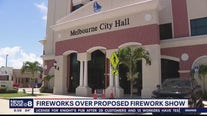 Proposed fireworks show rejected by Melbourne
