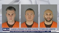 Charges upgraded for Derek Chauvin while the three other officers involved are arrested