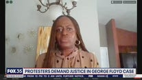 Protesters demand justice for George Floyd case