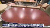 Home office furniture at bargain prices