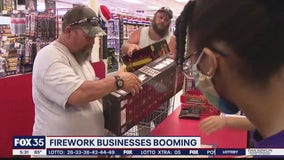 Firework business booming
